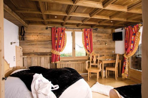 Double bedroom - Hotel Chalet Neige et Roc
