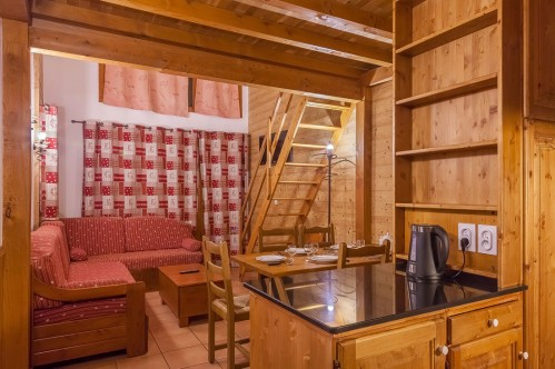 6-8 Person Apartment with Mezzanine - Les Balcons de Val Thorens