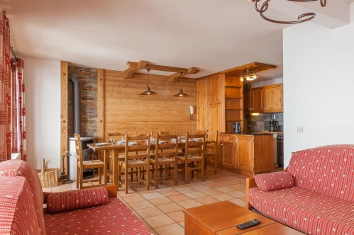 4 Bedroom apartment - Les Balcons de Val Thorens