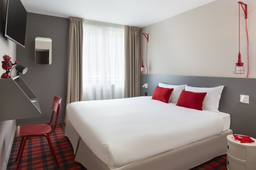 Single room at RockyPop Hotel; Copyright: RockyPop Hotel