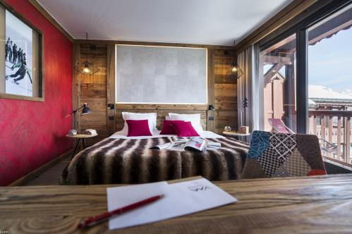 Double room at Hotel Village Montana Tignes