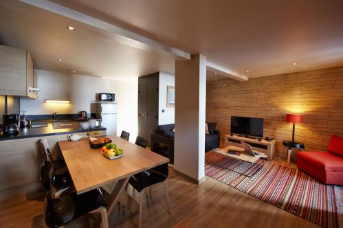 Premium apartment six people Les Chalets de Rosael Val Thorens