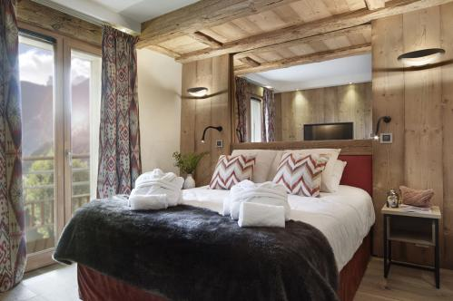 Double bedroom Residence Alexane MGM Samoens