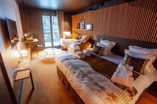 La Folie Douce Chamonix Premium Triple Room; Copyright: La Folie Douce