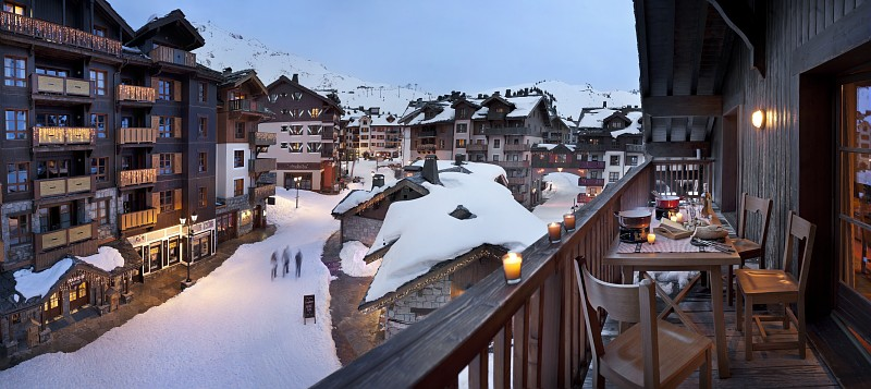 Le Village Arc 1950 is great for those looking to combine luxury with ski in ski out convenience