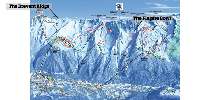 Top 10 OffPiste Ski Routes in Chamonix PowderBeds