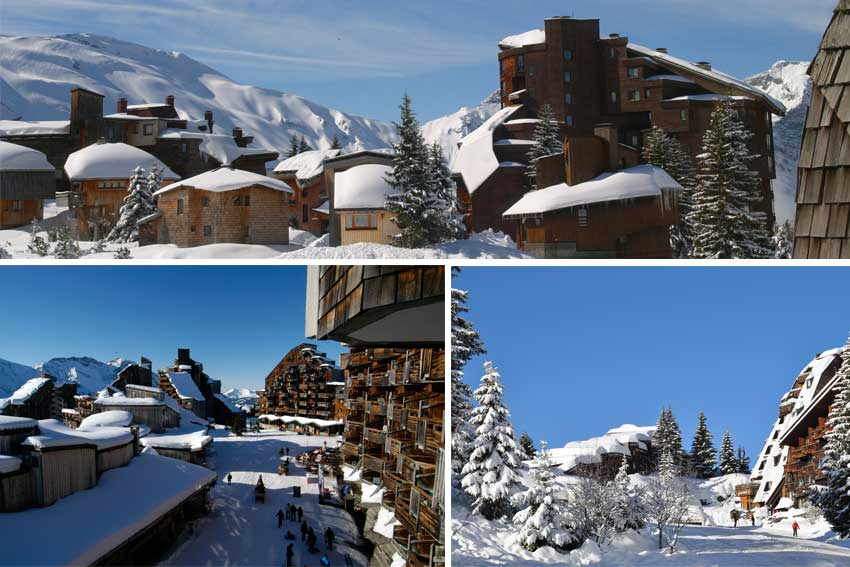 Building in Avoriaz
