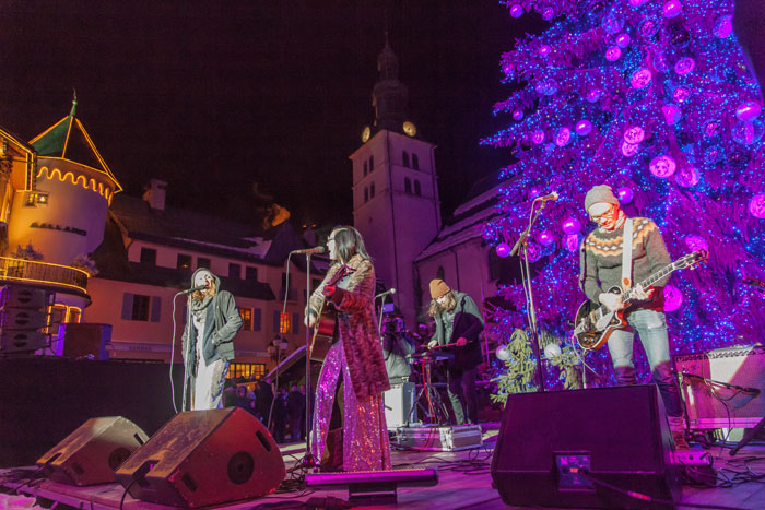 Christmas Entertainment in Megeve
