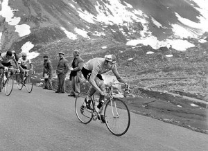 Eddie Merck in the Tour de France