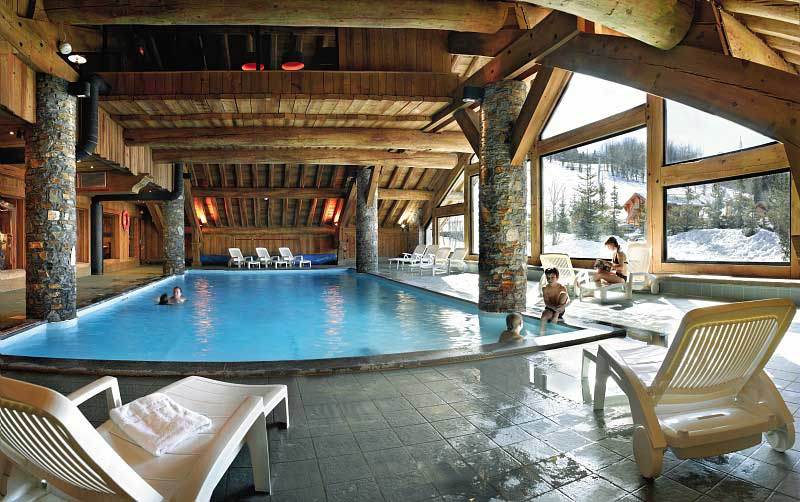 Les Fermes du Meribel Indoor Swimming Pool