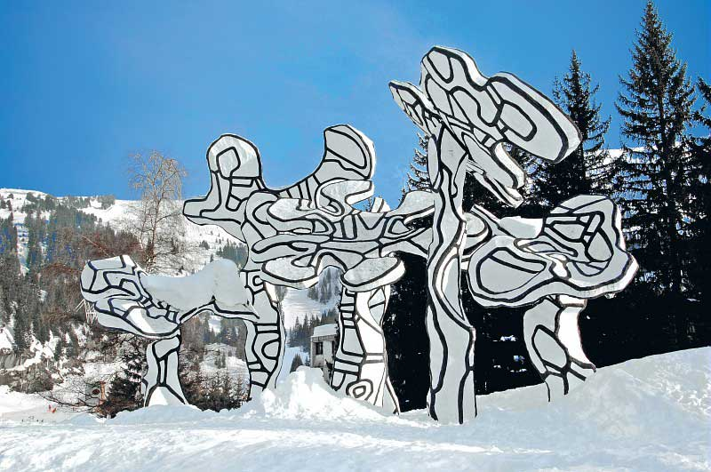 Flaine Sculptures