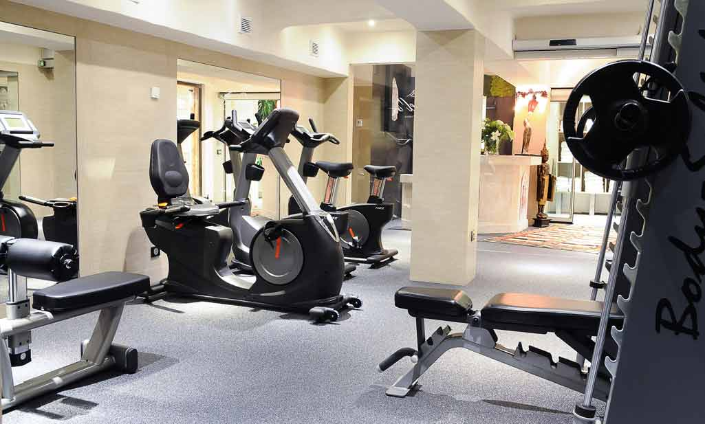 Hotel Le Brussels Gym
