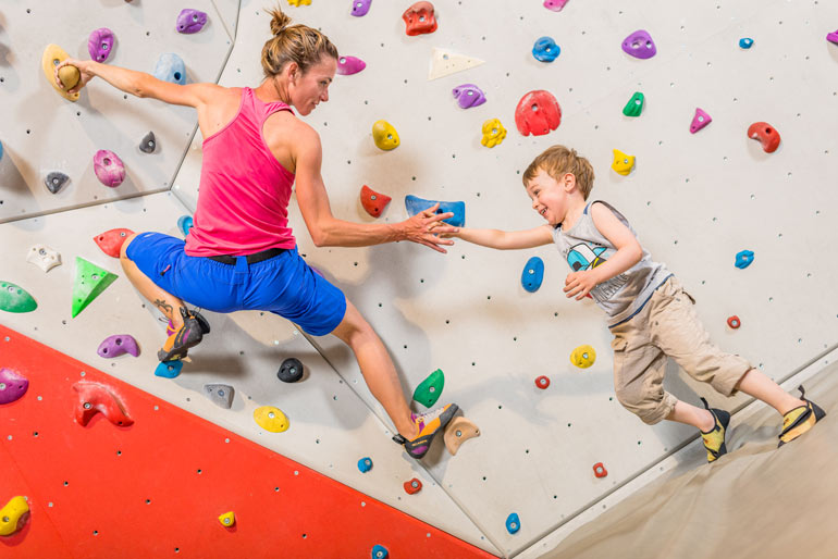 Indoor climbing wall Tignespace