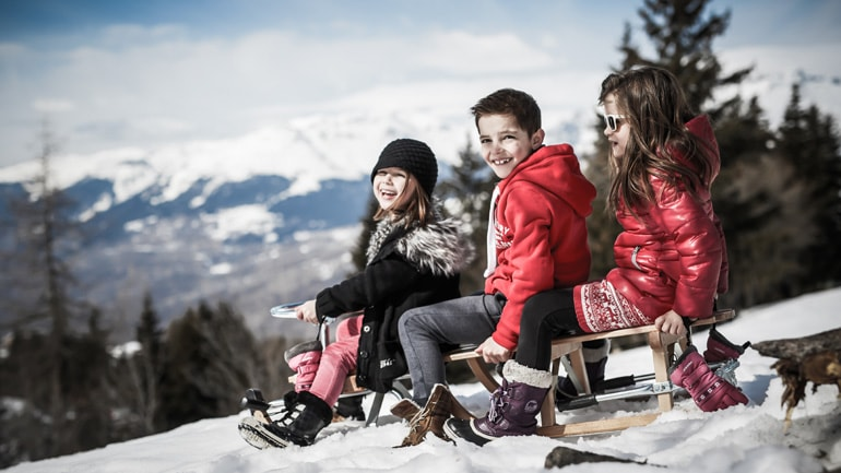 Kids in Les Arcs