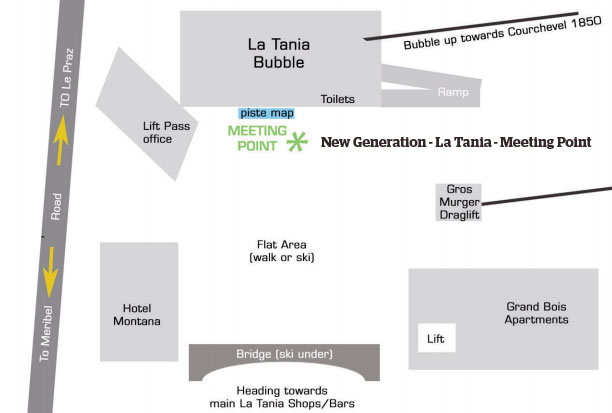 New Generation La Tania Meeting point