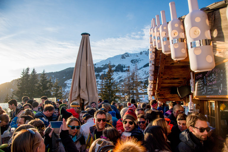 Apres-Ski at Le Rouge, Verbier