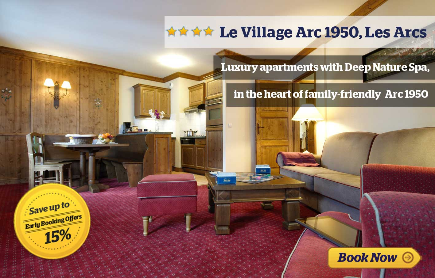 Le Village Arc 1950 - save up to 10%