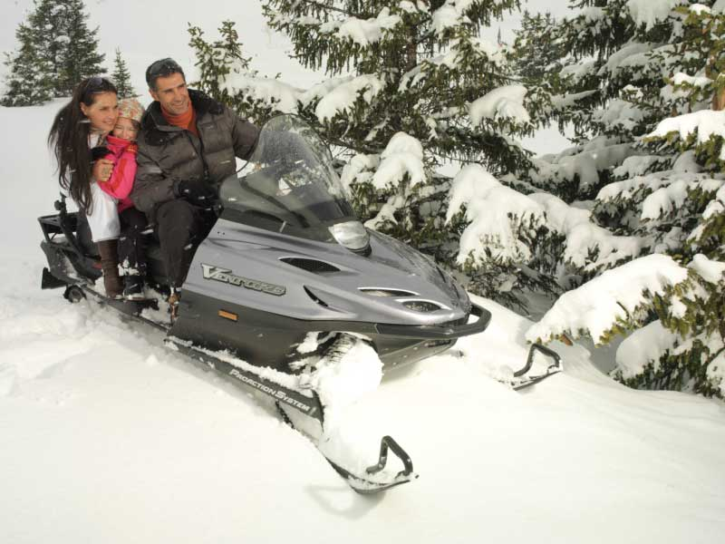 Snowmobile Meribel