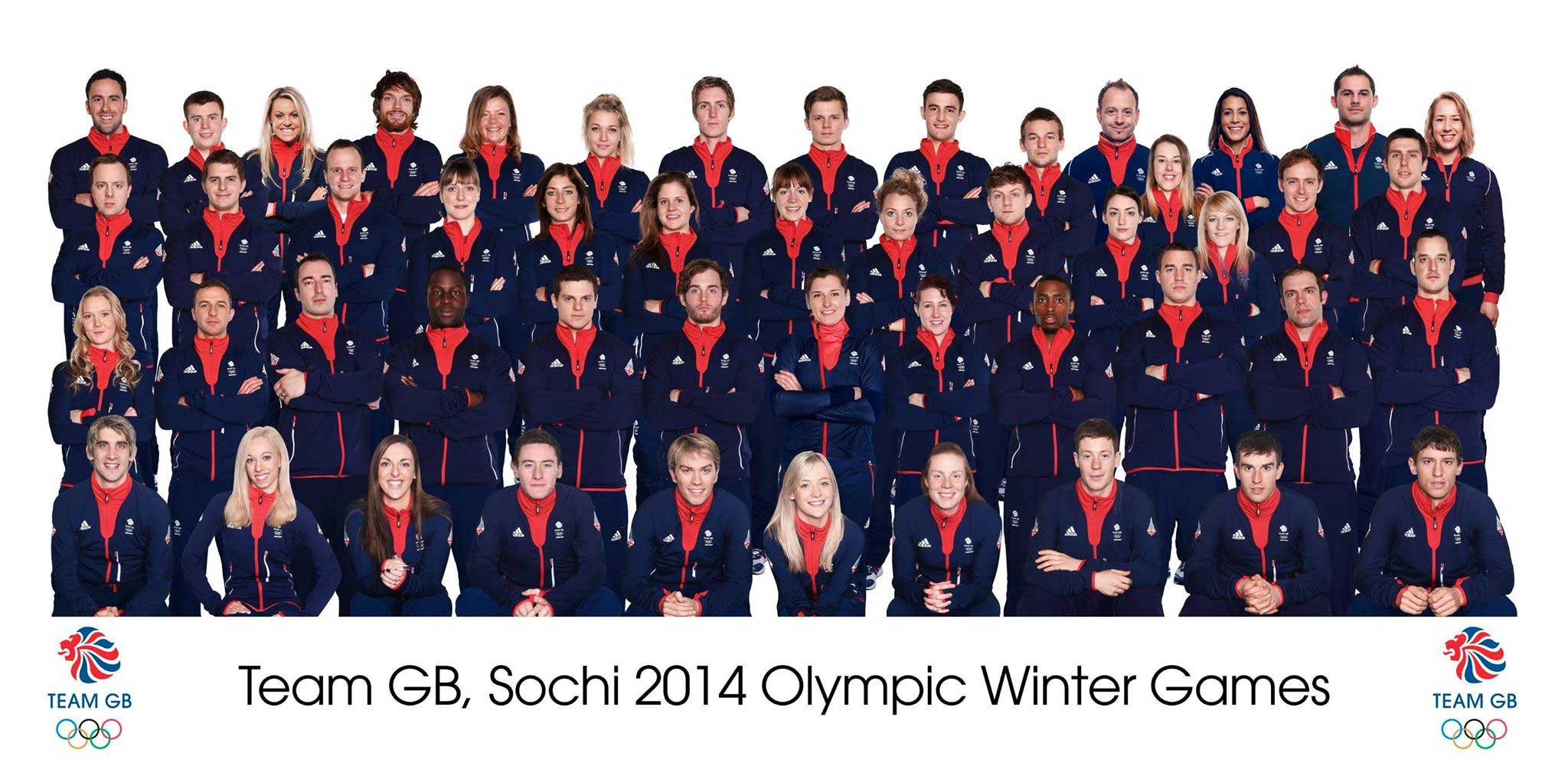 Team GB Sochi 2014 Olympic Winter Games