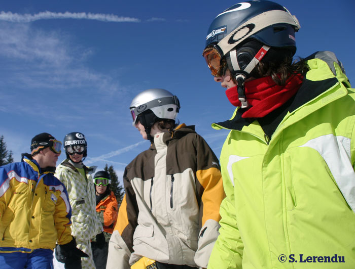 Teenagers' ski lessons - Avoriaz