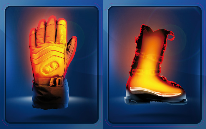 Therm-ic Heated Ski Gloves and Boot Insoles