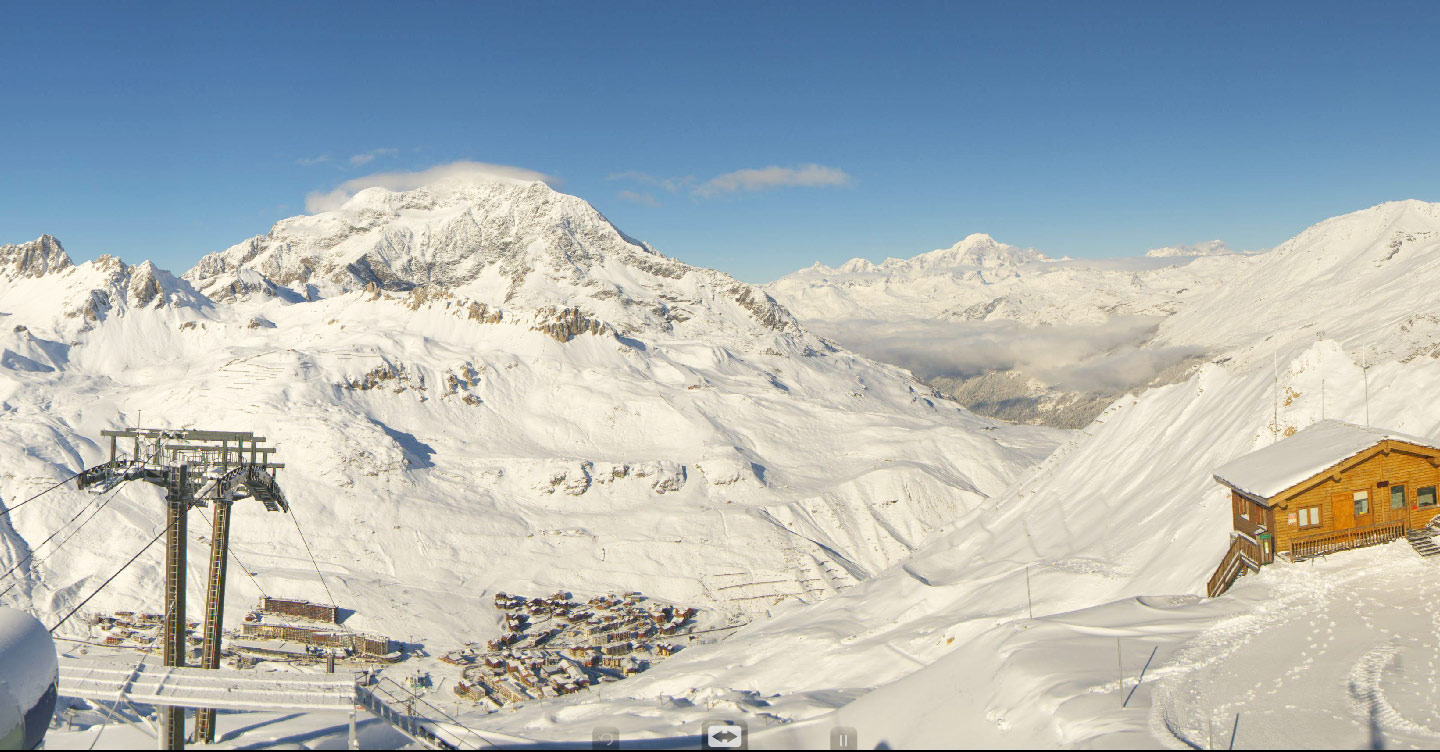 Fresh Snow Tignes