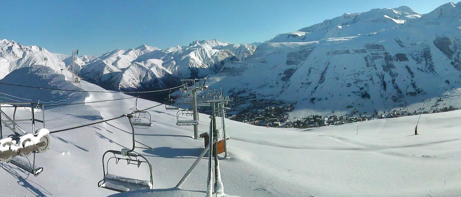 Webcam of Les Deux Alpes this morning