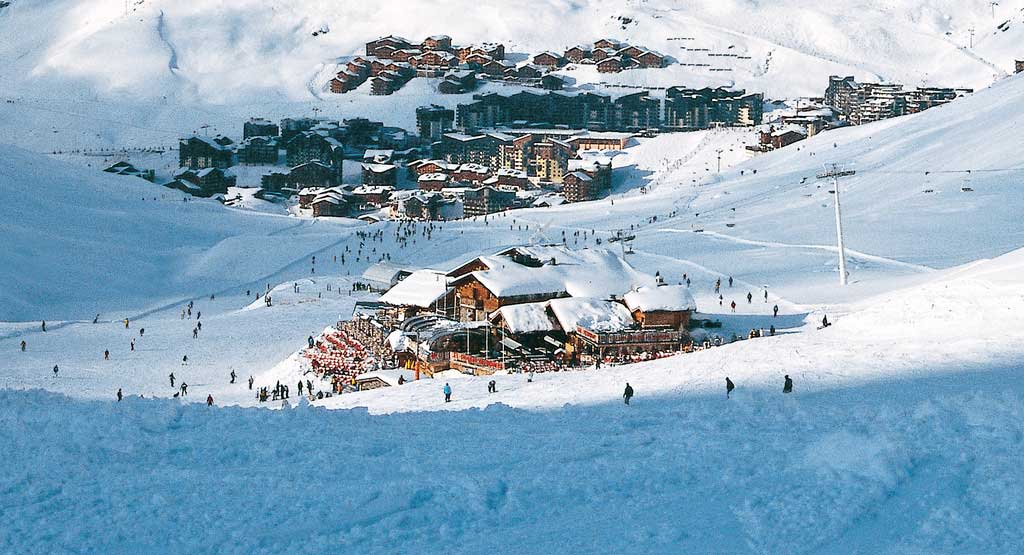 Overview of Val Thorens