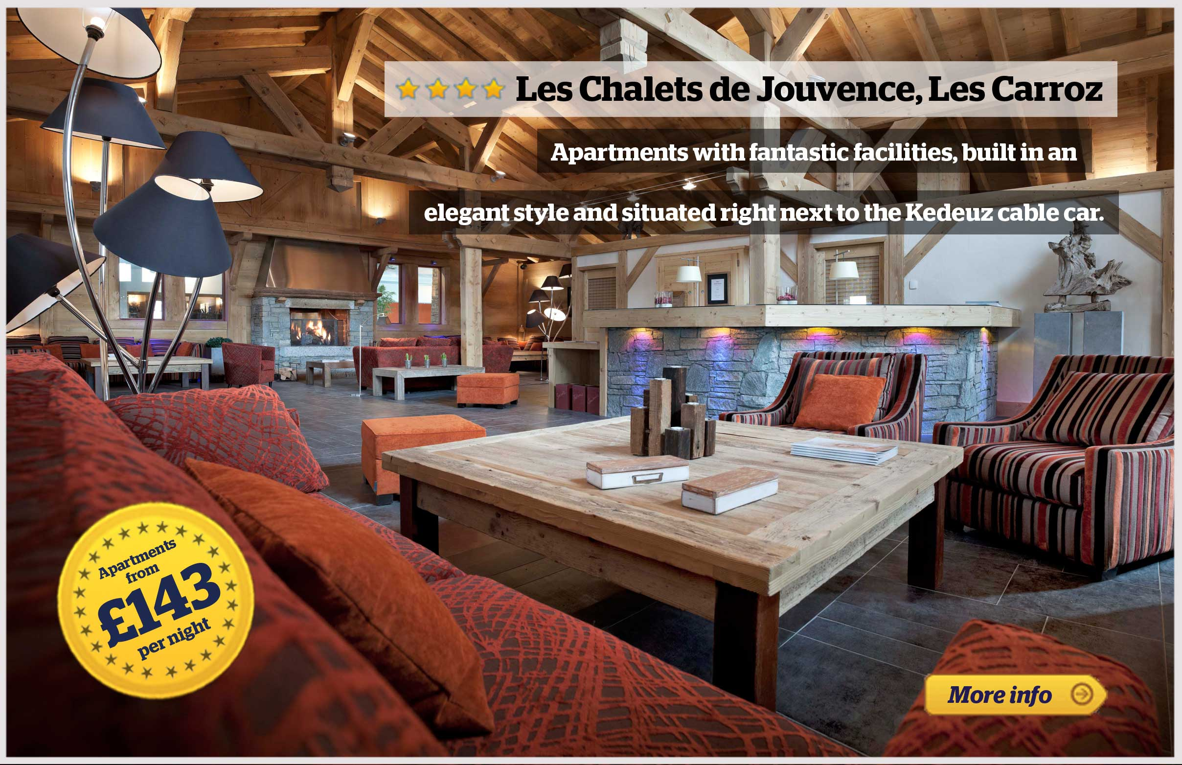 Offer - Chalets du Jouvence -Les Carroz