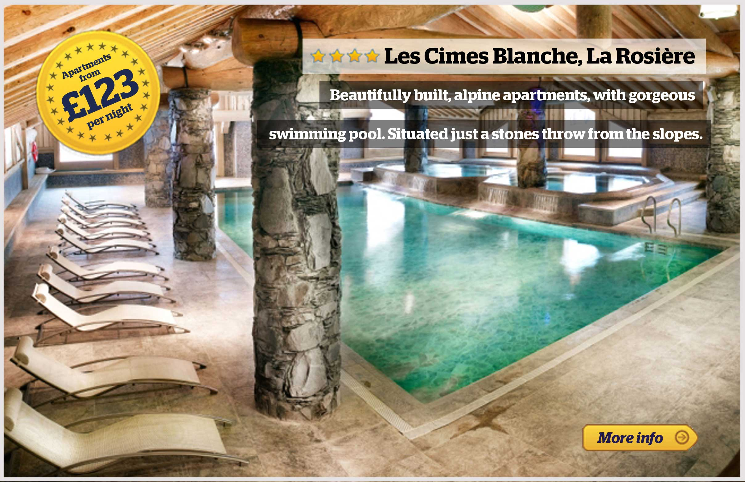Offer - Les Cimes Blanches, La Rosiere