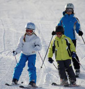 Family Skiing Val Thorens