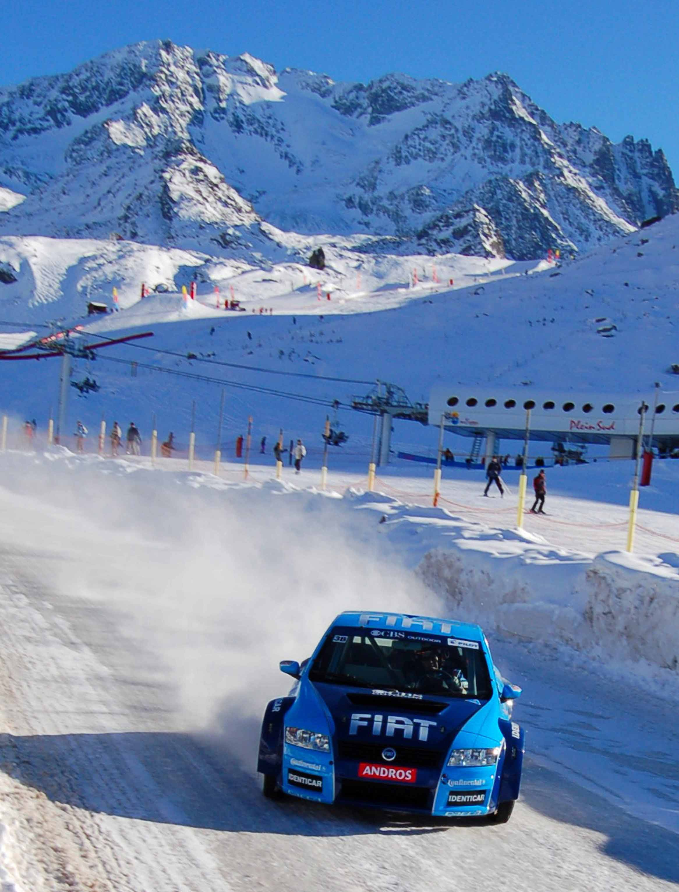 Car racing Val Thorens