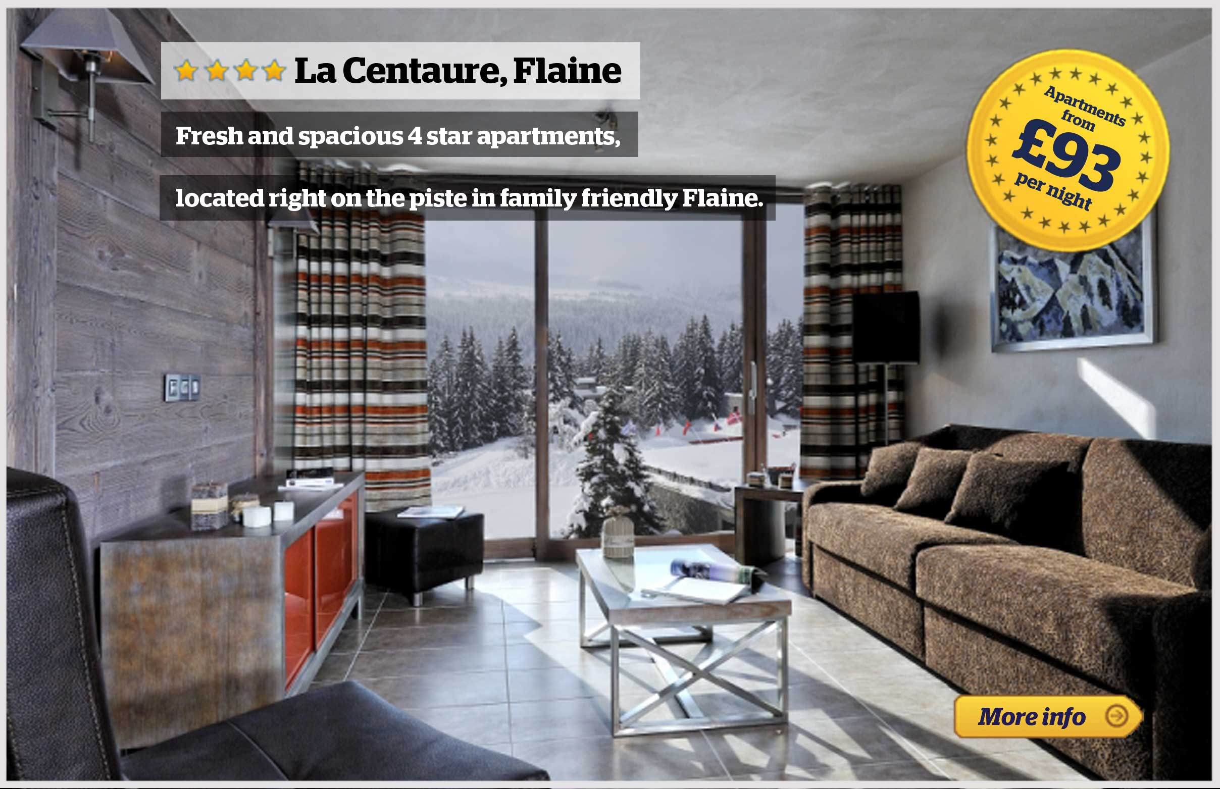 Offer - La Centaure, Flaine