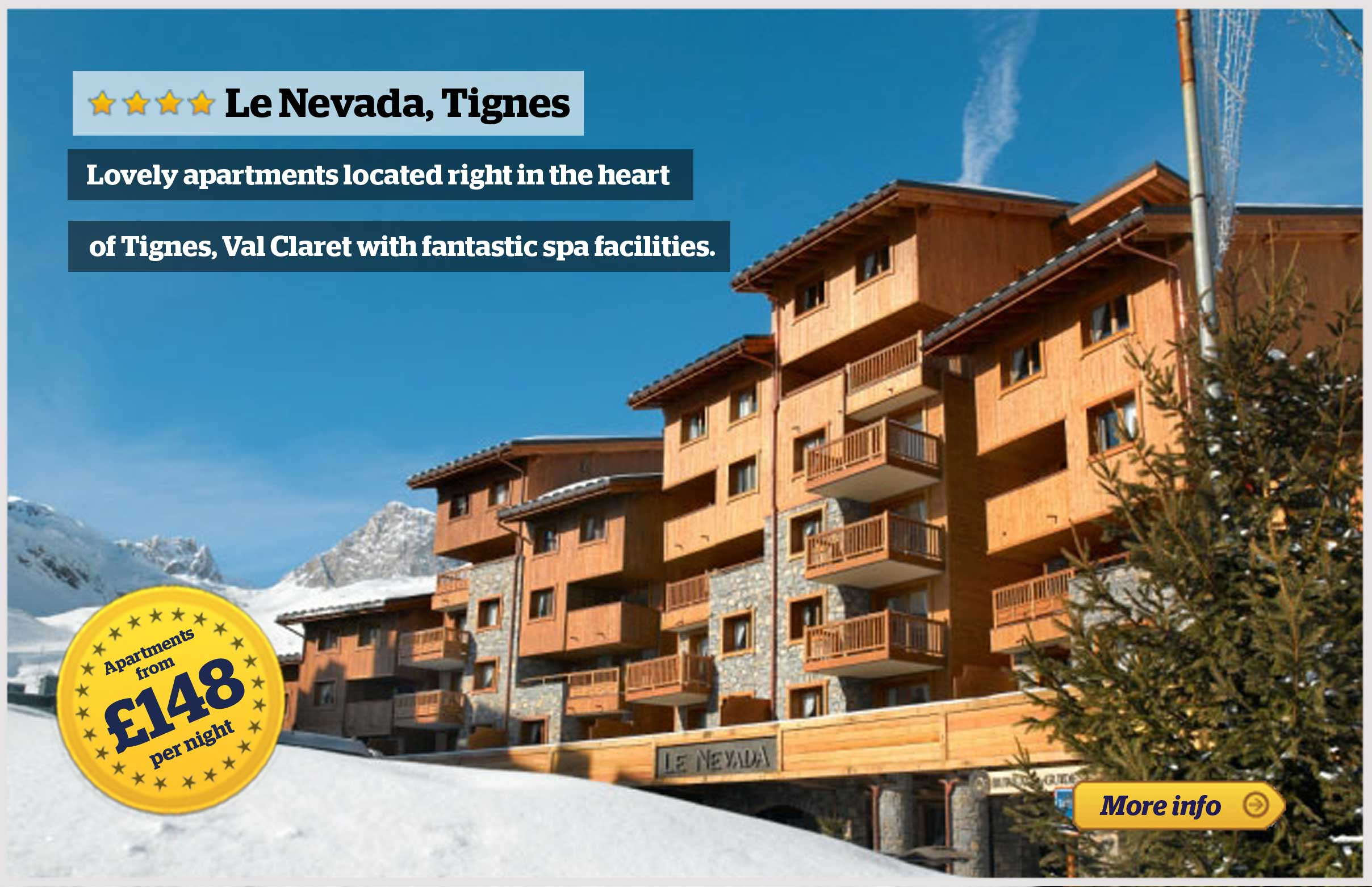 Offer - Le Nevada, Tignes