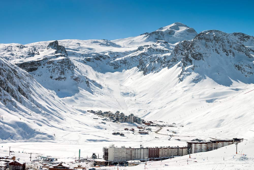 Ski off-piste in Tignes