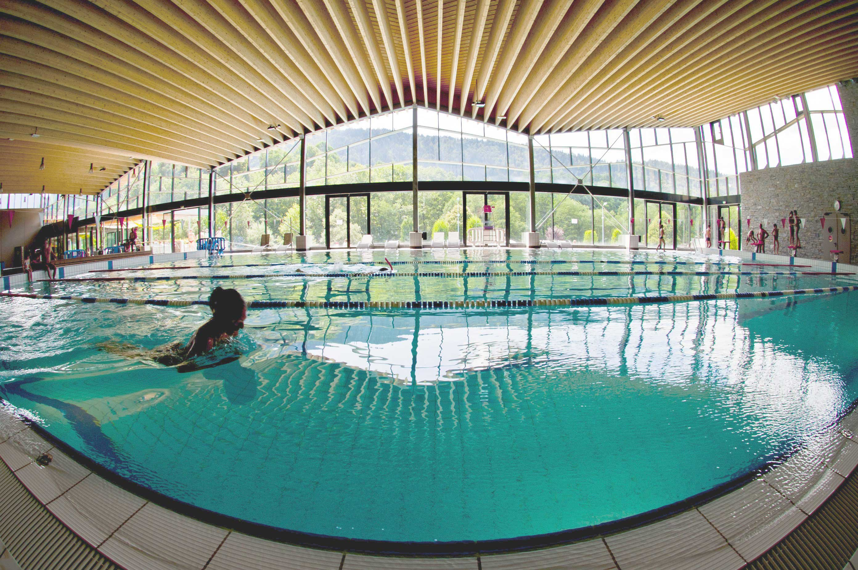 New swimming complex in Morzine