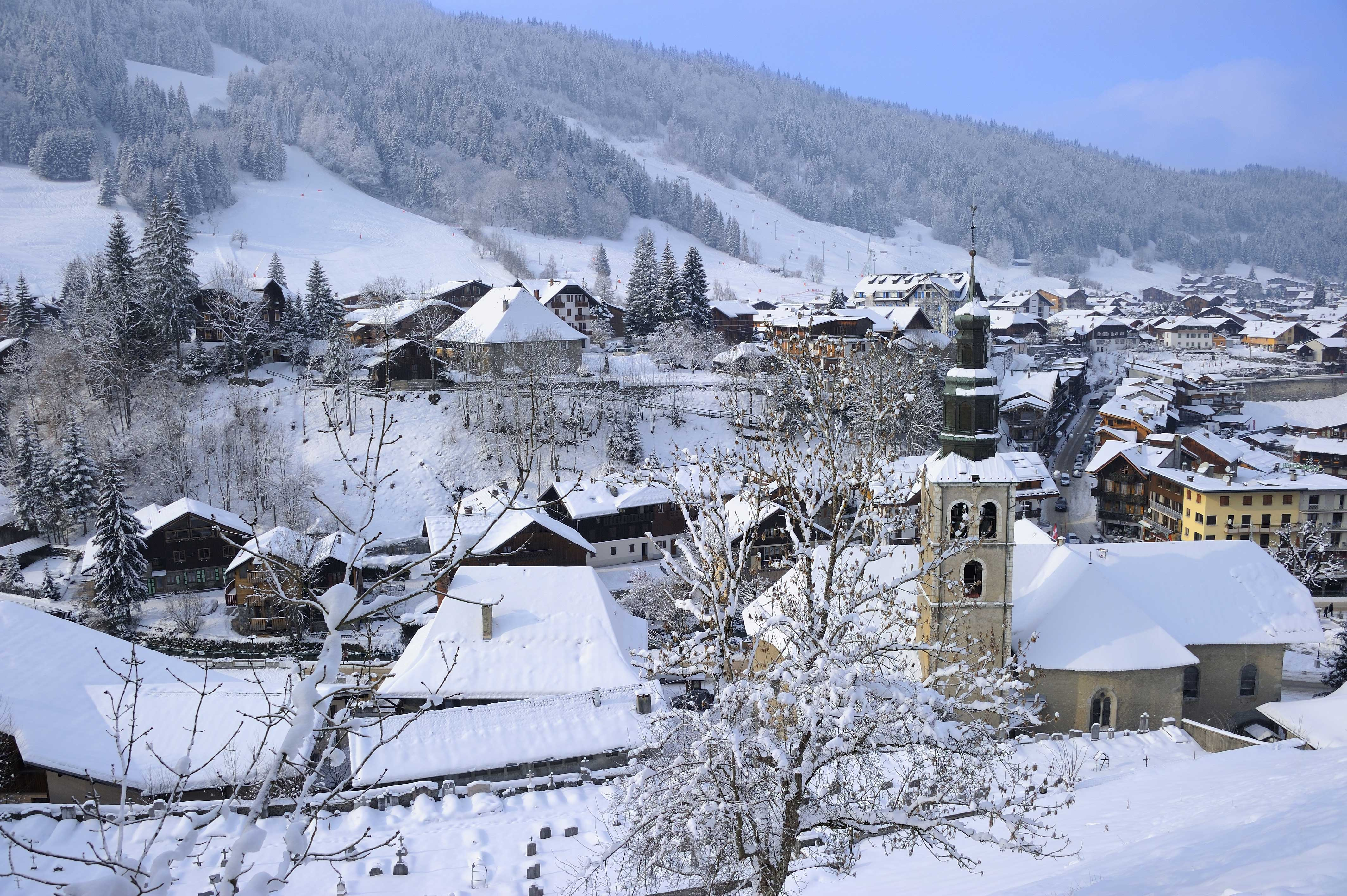 traditional ski village - Morzine