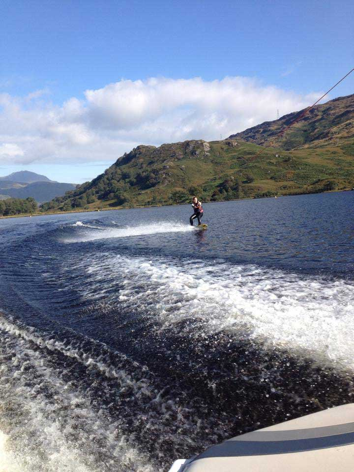 Wakeboarding at Loch Lomond